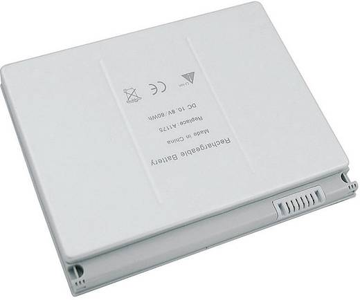 Beltrona Notebook-Akku ersetzt Original-Akku A1175, MA348, MA348*/A, MA348G/A, MA348J/A 10.8 V 5800 mAh