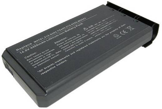 Beltrona Notebook-Akku ersetzt Original-Akku 312-0292, 312-0326, 312-0335, G9812, H9566, M5701, T5443, W5543 14.8 V 4400