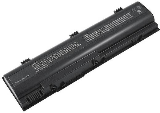 Beltrona Notebook-Akku ersetzt Original-Akku HD438 14.8 V 4400 mAh