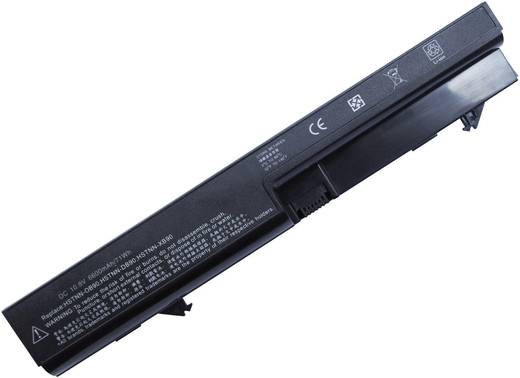 Notebook-Akku Beltrona ersetzt Original-Akku HSTNN-DB90, HSTNN-OB90, HSTNN-I60C-4, HSTNN-I61C-4, 513128-25 10.8 V 4400 m