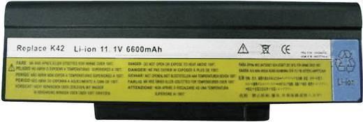 Notebook-Akku Beltrona ersetzt Original-Akku FUR P/N, 121ZP000C, ASM P/N, BATFT10L61 11.1 V 6600 mAh