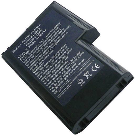 Notebook-Akku Beltrona ersetzt Original-Akku PA3284U-1BAS, PA3284U-1BRS, PA3285U-1BAS, PA3285U-1BRS, PA3285U-2BAS, PA328
