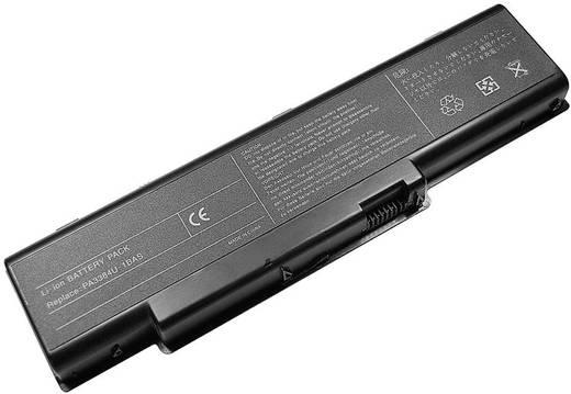 Notebook-Akku Beltrona ersetzt Original-Akku PA3382U-1BAS, PA3382U-1BRS, PA3384U-1BAS, PA3384U-1BRS, PABAS052 14.8 V 440