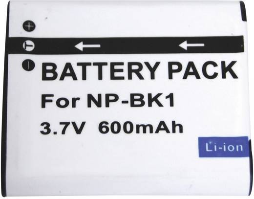 Kamera-Akku Conrad energy ersetzt Original-Akku NP-BK1 3.6 V 600 mAh NP-BK1