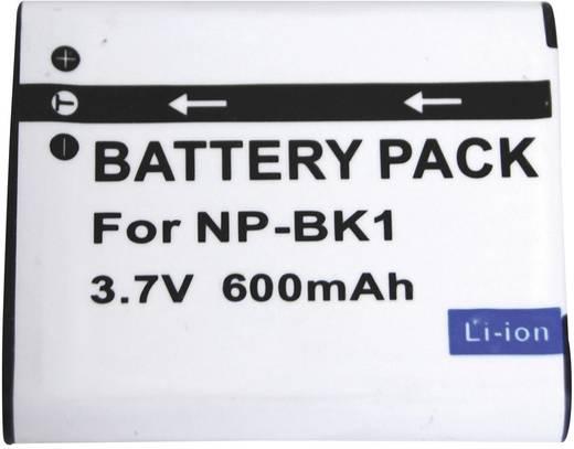 Kamera-Akku Conrad energy ersetzt Original-Akku NP-BK1 3.6 V 600 mAh