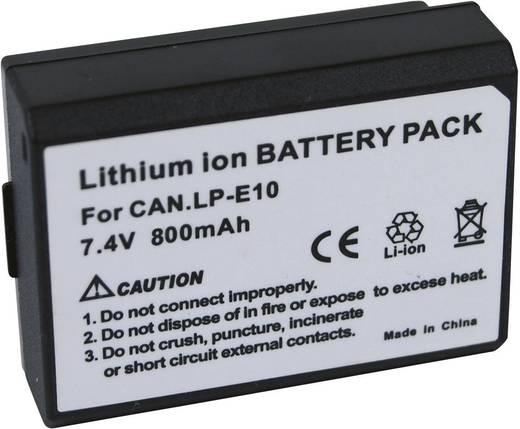 Kamera-Akku Conrad energy ersetzt Original-Akku LP-E10 7.4 V 800 mAh