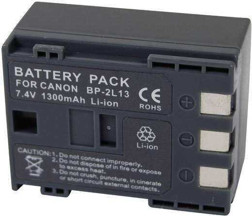 Kamera-Akku Conrad energy ersetzt Original-Akku BP-2L14 7.4 V 1200 mAh