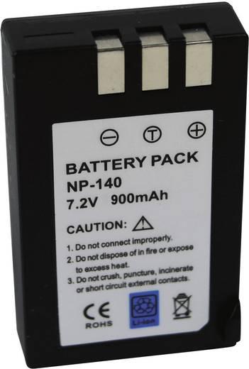 Kamera-Akku Conrad energy ersetzt Original-Akku NP-140 7.4 V 900 mAh NP-140