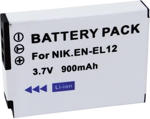 Kamera-Akku Conrad energy ersetzt Original-Akku EN-EL12 3.7 V 650 mAh EN-EL12