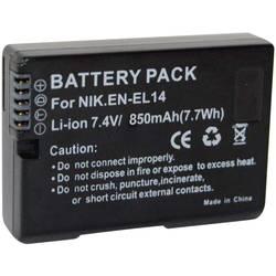 Náhradné batérie pre kamery Conrad Energy EN-EL14, 7,4 V, 850 mAh