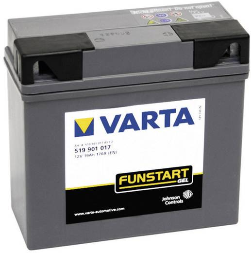 Motorradbatterie Varta BMW 12 V 19 Ah ETN 519901017 Passend für Modell Motorräder