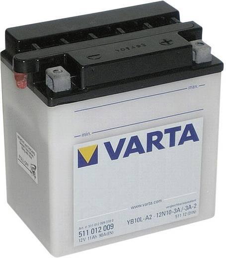 Motorradbatterie Varta 12N10-3A, 12N10-3A-1, 12N10-3A-2, YB10L-A2 12 V 11 Ah ETN 511012009 Passend für Modell Motorräder