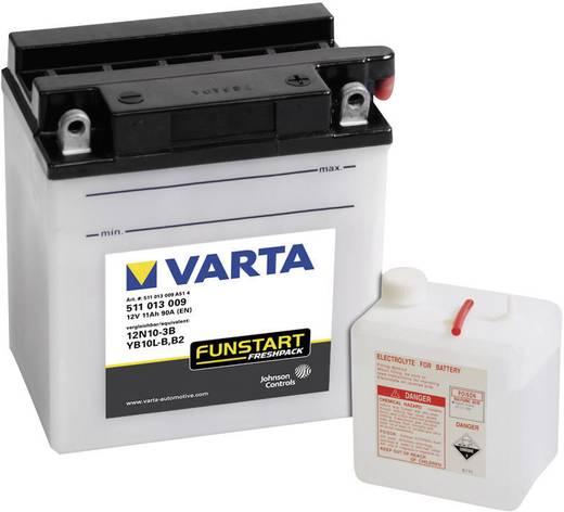 Motorradbatterie Varta 12N10-3B, YB10L-B 12 V 11 Ah ETN 511013009 Passend für Modell Motorräder, Motorroller, Quads, Jet