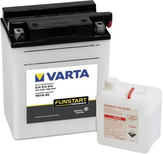 Motorradbatterie Varta YB14L-B2 12 V 14 Ah ETN 514013014 Passend für Modell Motorräder, Motorroller, Quads, Jetski, Schn