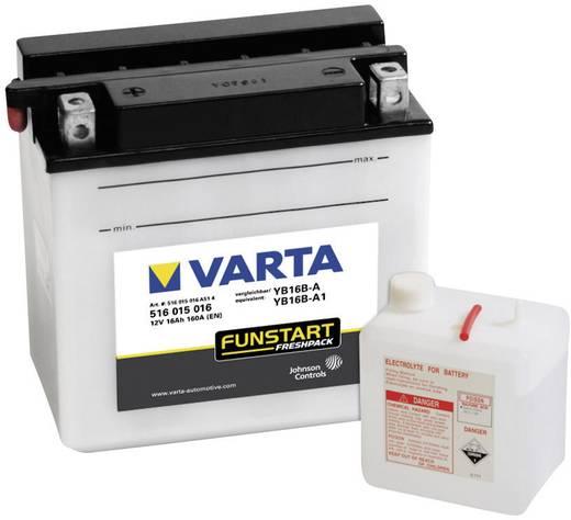 Motorradbatterie Varta YB16B-A, YB16B-A1 12 V 16 Ah ETN 516015016 Passend für Modell Motorräder, Motorroller, Quads, Jet