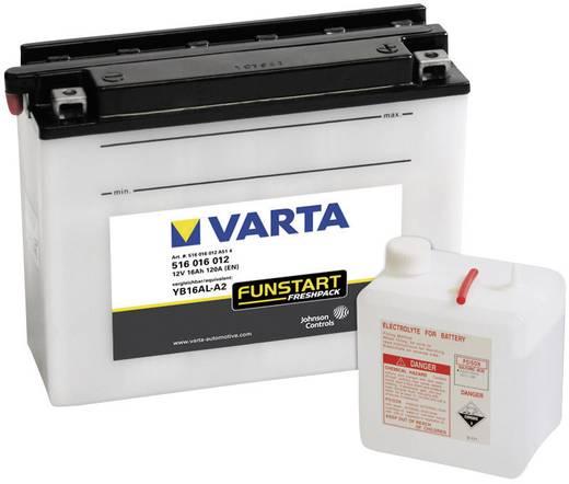 Motorradbatterie Varta YB16AL-A2 12 V 16 Ah ETN 516016012 Passend für Motorräder, Motorroller, Quads, Jetski, Schneemobi