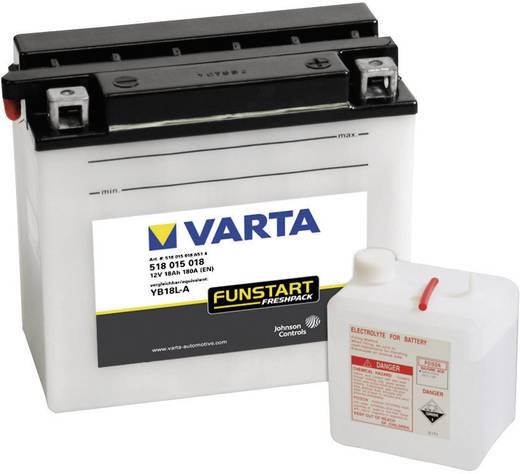 Motorradbatterie Varta YB18L-A 12 V 18 Ah ETN 518015018 Passend für Motorräder, Motorroller, Quads, Jetski, Schneemobile