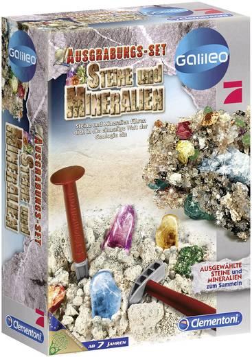 Clementoni Galileo - Ausgrabungs-Set Steine