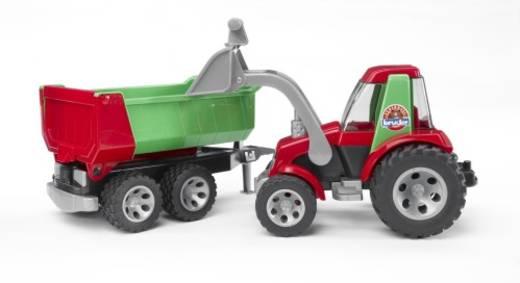 Bruder ROADMAX Traktor mit Frontlader und Kippanhänger 20116