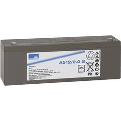 Gelový akumulátor, 12 V/2 Ah, Exide Sonnenschein NGA5120002HS0SA