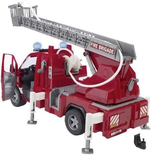 Bruder Mercedes Benz Sprinter Feuerwehr mit Drehleiter, Wasserpumpe und Licht and Sound Module 2532