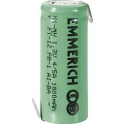 Akumulátor NiMH Emmerich 4/5 A1800 mAh, ZLF