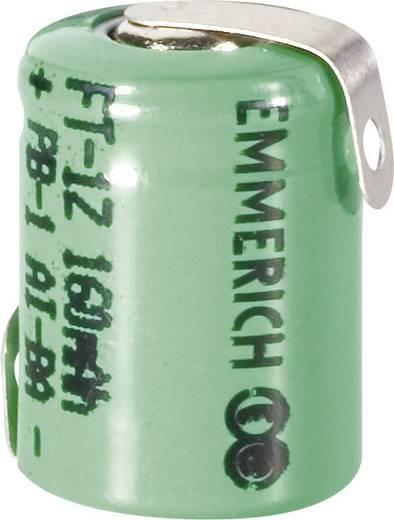 Spezial-Akku 1/3 AAA Z-Lötfahne NiMH Emmerich 1/3 Micro ZLF 1.2 V 160 mAh