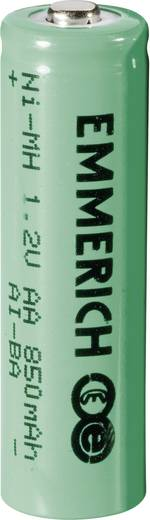 Mignon (AA)-Akku NiMH Emmerich HR06 850 mAh 1.2 V 1 St.