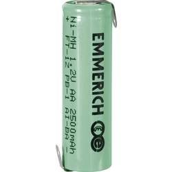 Emmerich NiMH-akumulátory so Z spájkovacími očkami AA 2500 mAh, FT-1Z