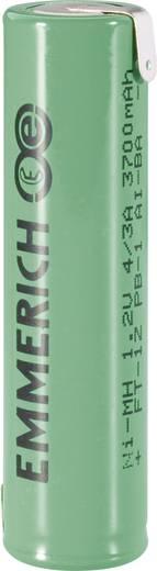 Emmerich 4/3 A ZLF Spezial-Akku 4/3 A Z-Lötfahne NiMH 1.2 V 3700 mAh