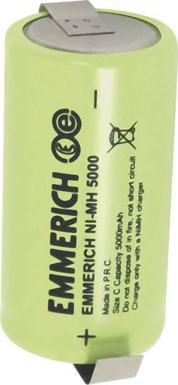 Akumulátor NiMH Emmerich malé mono 5000 mAh