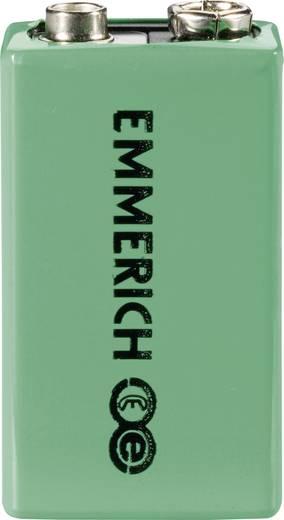9 V Block-Akku NiMH Emmerich 6LR61 160 mAh 8.4 V 1 St.