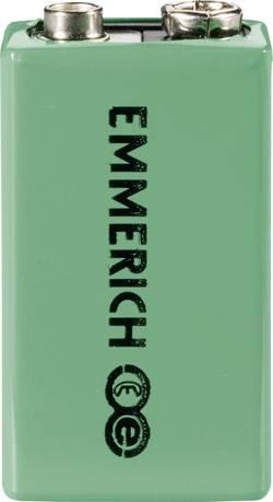 Image of 9 V Block-Akku NiMH Emmerich 6LR61 160 mAh 8.4 V 1 St.