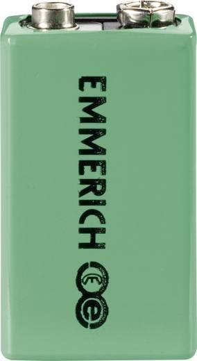 9 V Block-Akku NiMH Emmerich 255051 200 mAh 9.6 V 1 St.