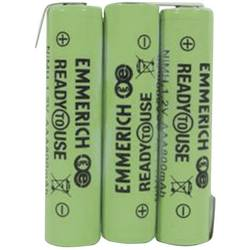 Akupack Ni-MH 3 AAA Emmerich ReadyToUse 3AAA-ZLF 255062, 800 mAh, 3.6 V