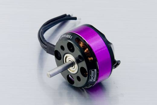 Flugmodell Brushless Elektromotor Hacker A20-34 S EVO kV (U/min pro Volt): 1500 Windungen (Turns): 34