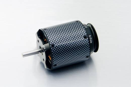 Flugmodell Brushless Elektromotor A50-12 S - 8Pole ElectricTurbine Hacker kV (U/min pro Volt): 800 Windungen (Turns): 12