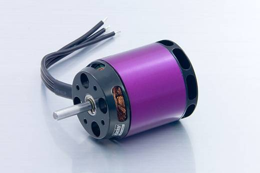 Flugmodell Brushless Elektromotor A40-10L V2 14-Pole Hacker kV (U/min pro Volt): 500 Windungen (Turns): 10