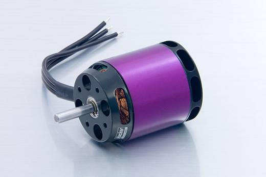 Flugmodell Brushless Elektromotor A40-8L V2 8-Pole Hacker kV (U/min pro Volt): 1300 Windungen (Turns): 8