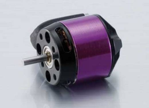 Flugmodell Brushless Elektromotor A20-12 L 10-Pole EVO Hacker kV (U/min pro Volt): 2100 Windungen (Turns): 12