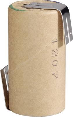 Akumulátor s pájecími kontakty NiMH Panasonic Sub C, 1,2 V, 3000 mAh