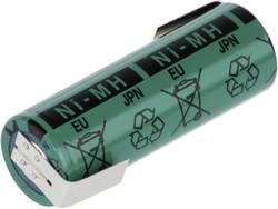 Akumulátor s pájecími kontakty NiMH A, 1,2 V, 2700 mAh