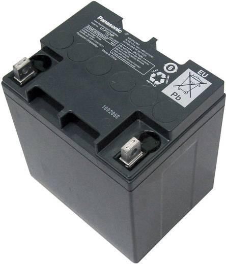 Bleiakku 12 V 24 Ah Panasonic 12 V 24 Ah LC-P1224APG Blei-Vlies (AGM) (B x H x T) 165 x 175 x 125 mm M5-Schraubanschluss Wartungsfrei, VDS-Zertifizierung