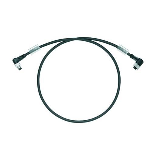 Sensor-/Aktor-Steckverbinder, konfektioniert Stecker, gewinkelt, Buchse, gewinkelt 1 m Polzahl (RJ): 3 Weidmüller 19379