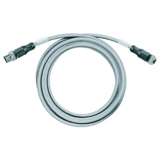 Sensor-/Aktor-Steckverbinder, konfektioniert M12 Stecker, gerade, Buchse, gerade 10 m Polzahl (RJ): 12 Weidmüller 196440
