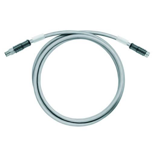 Sensor-/Aktor-Datensteckverbinder, konfektioniert Stecker, gerade, Buchse, gerade Polzahl (RJ): 4 Weidmüller 198190003