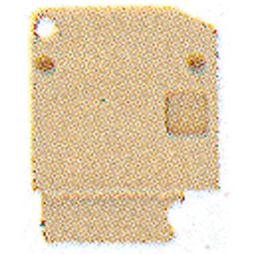 Abschlussplatte AP SAK4-10 GR 7042 1853970000 Weidmüller 20 St.