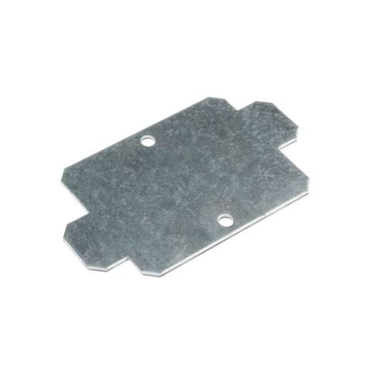 Montageplatte (L x B) 116 mm x 115 mm Stahlblech Weidmüller MOPL K4 staal 1 St.
