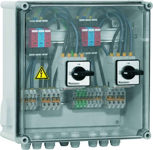 Überspannungsschutz-Anschlusskasten Überspannungsschutz für: Photovoltaik-Anlage Weidmüller PV DC 2INX2 2SW 2MPPT 2SPD CG 1000V 7504811012