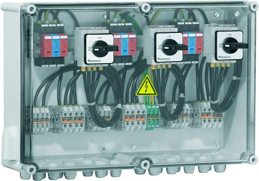 Überspannungsschutz-Anschlusskasten Überspannungsschutz für: Photovoltaik-Anlage Weidmüller PV DC 2INX3 3SW 3MPPT 3SPD CG 1000V 7504811013